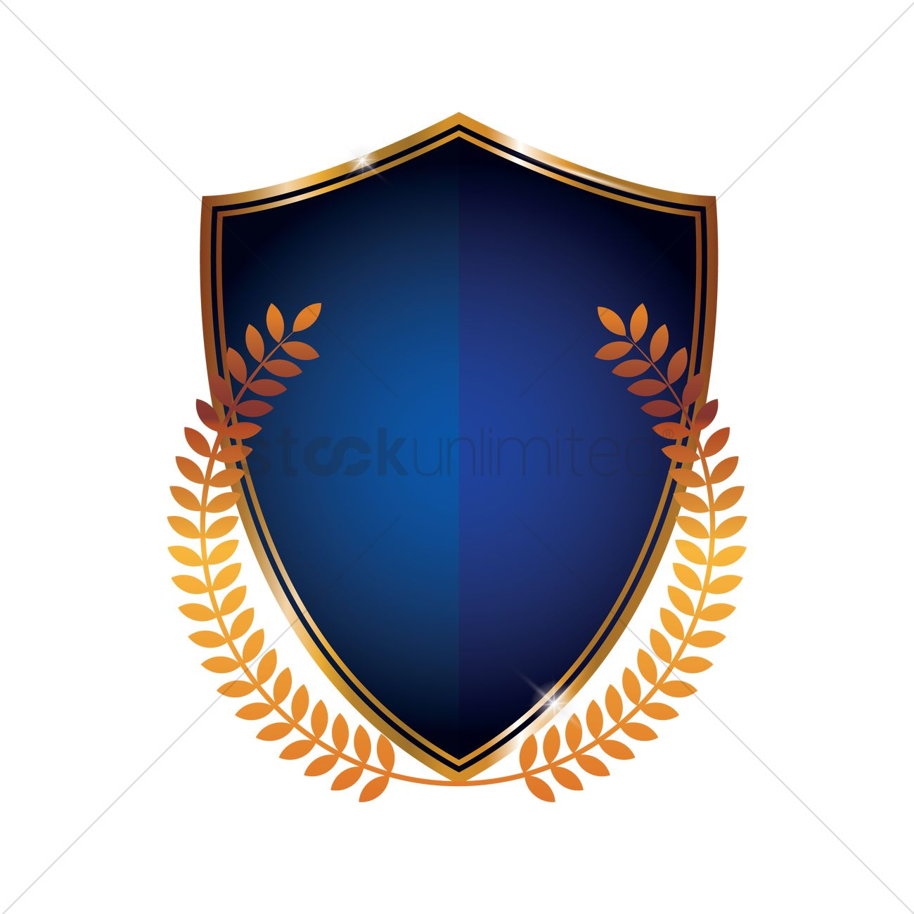 Blue shield emblem vector image 1874312 stockunlimited blue shield emblem vector graphic buycottarizona Image collections