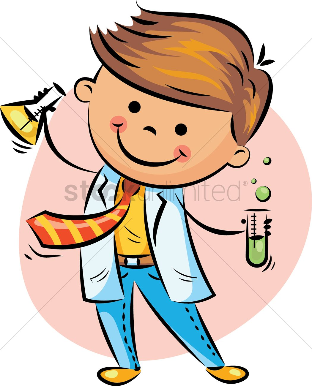 boy scientist vector image 2022124 stockunlimited boy scientist vector image 2022124