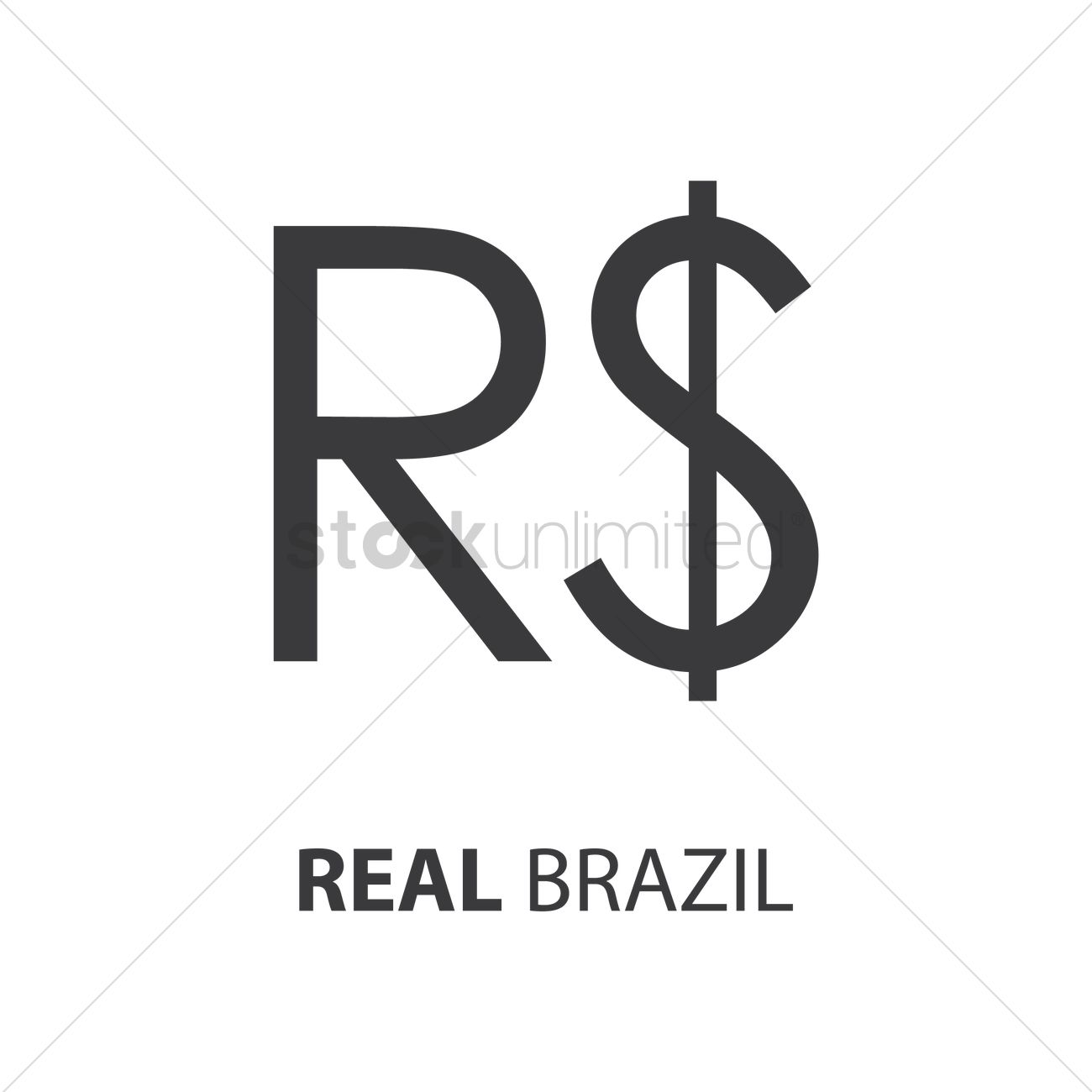 Brazilian Real Vector Image 1753668 Stockunlimited