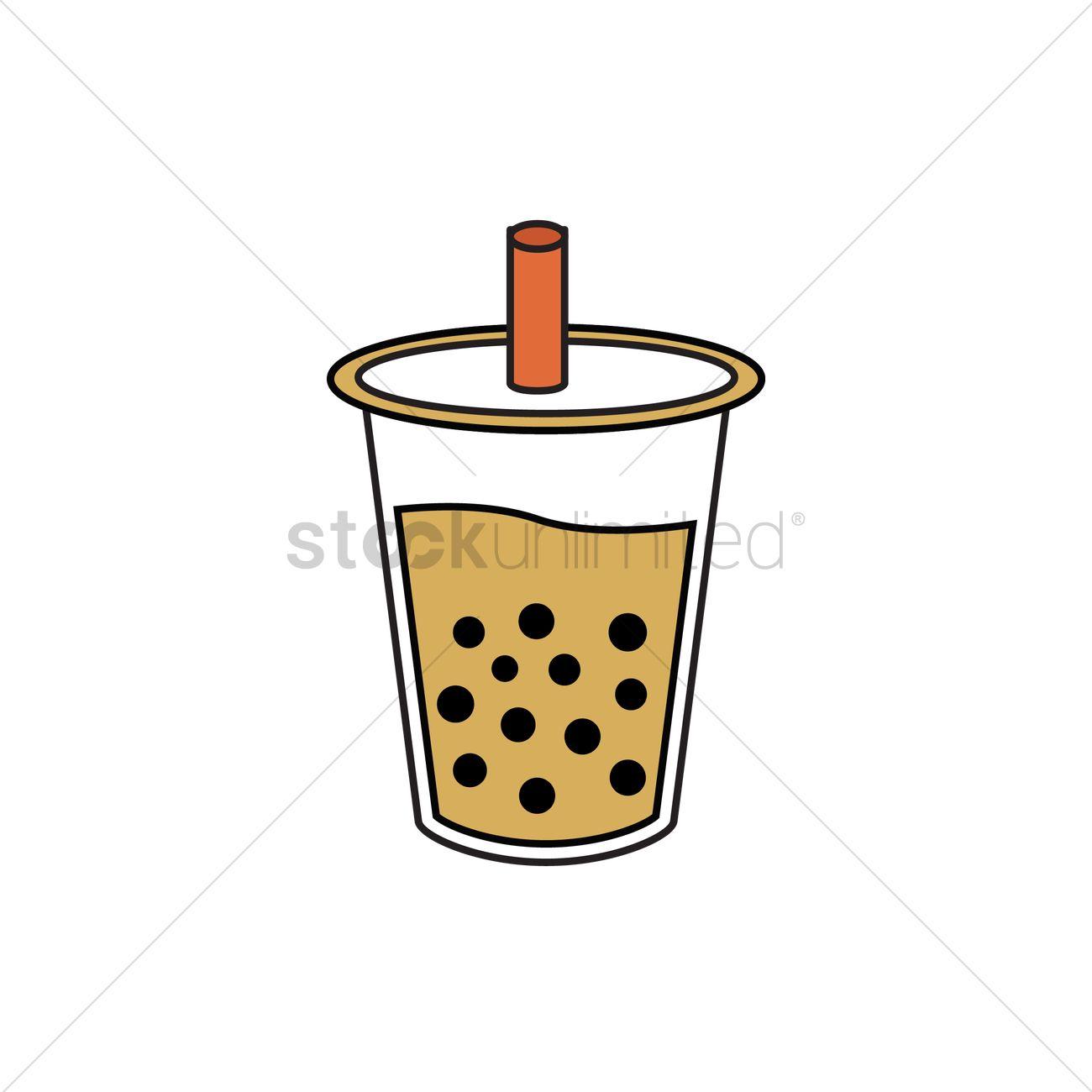 bubble tea vector image 2035504 stockunlimited