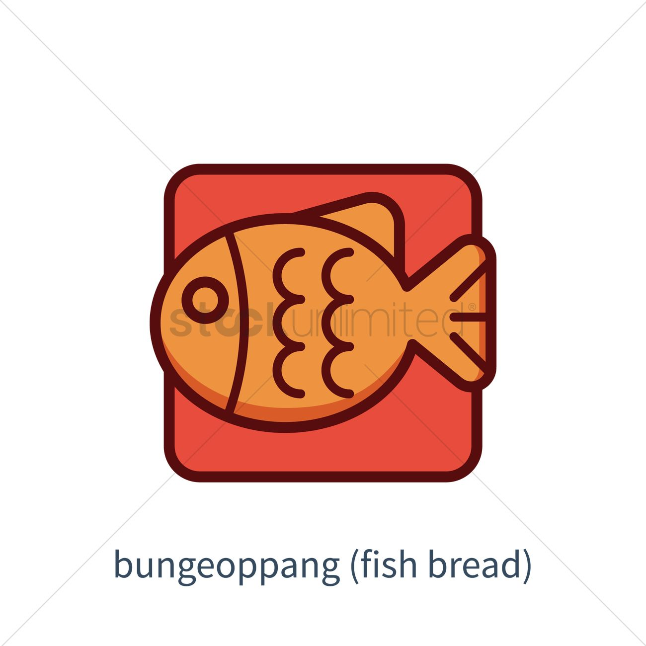 Icon Icons Color Colors Colour Colours Bungeoppang Fish Bread Fish ...