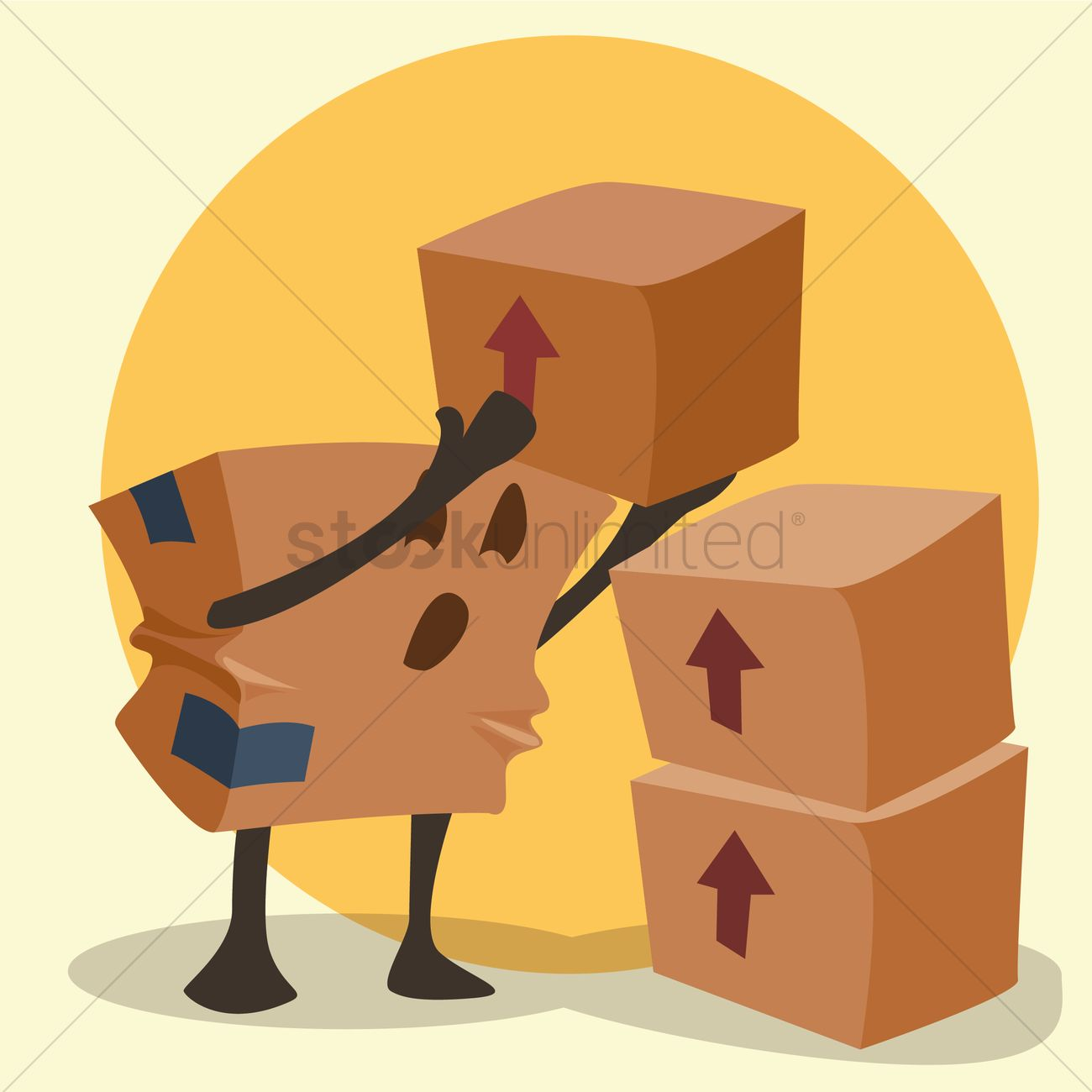 Cardboard box cartoon stacking up parcels vector image 1426420 cardboard box cartoon stacking up parcels vector graphic biocorpaavc Choice Image