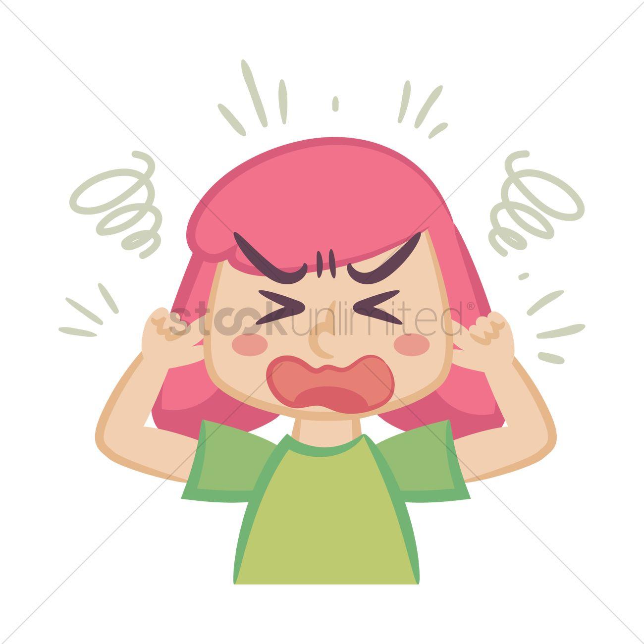 Frustrated Cartoon Girl | www.pixshark.com - Images ...