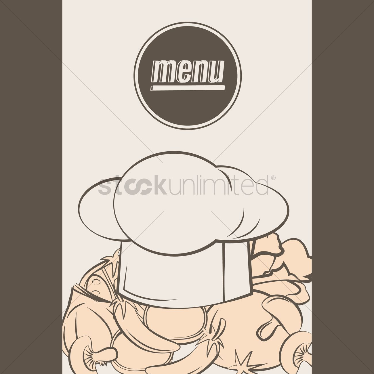Chef hat Vector Image - 1616336 | StockUnlimited