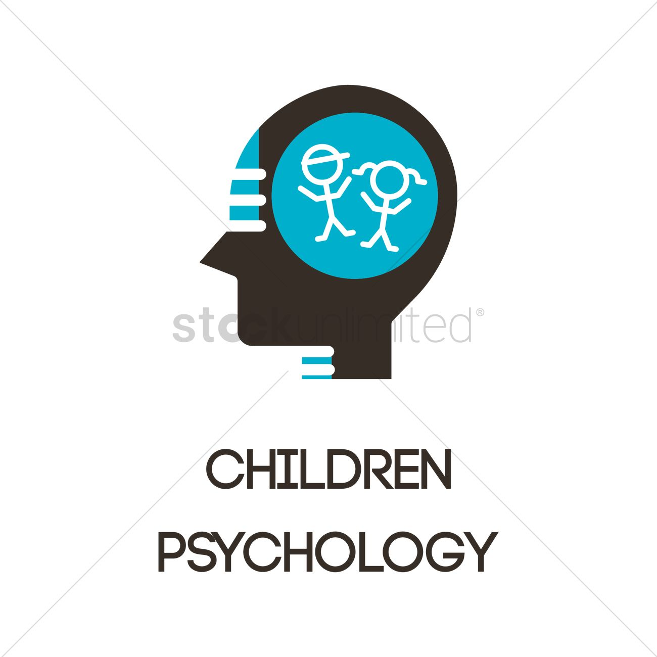 Children Psychology Icon Vector Image 2023204 Stockunlimited
