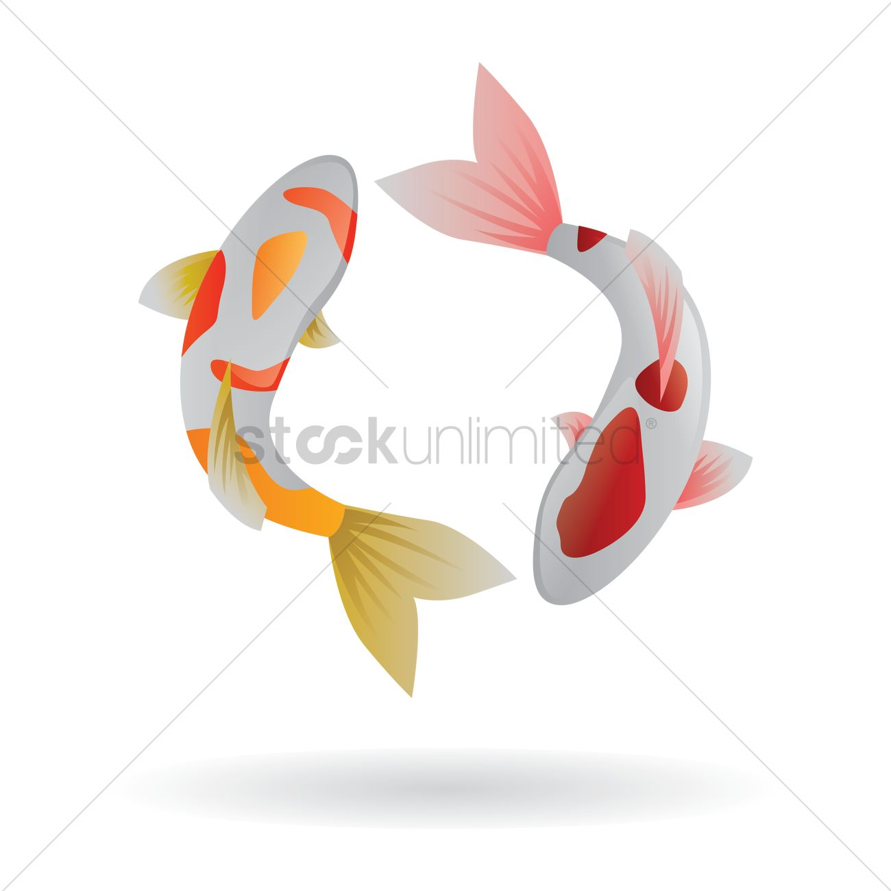 Chinese new year fish greeting card design Vector Image - 1408284 ...