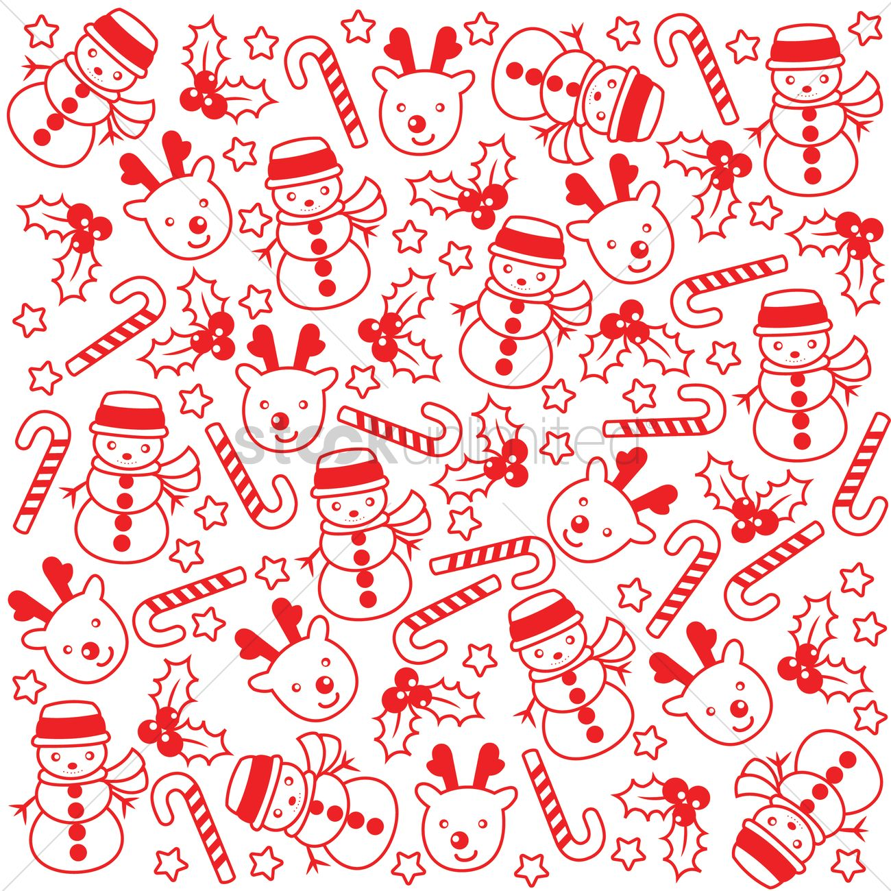 Christmas Pattern.Christmas Pattern Background Vector Image 1580468