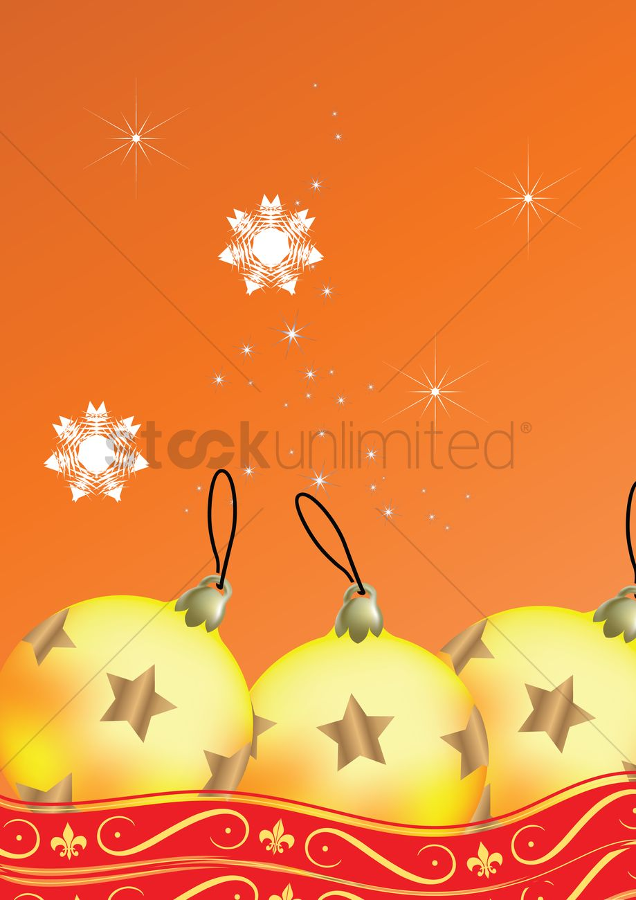 free christmas themed background vector image - 1259324 | stockunlimited