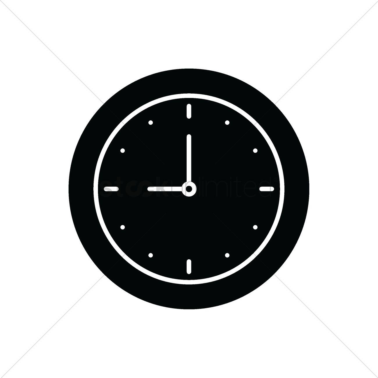 Clock icon Vector Image - 2002468   StockUnlimited