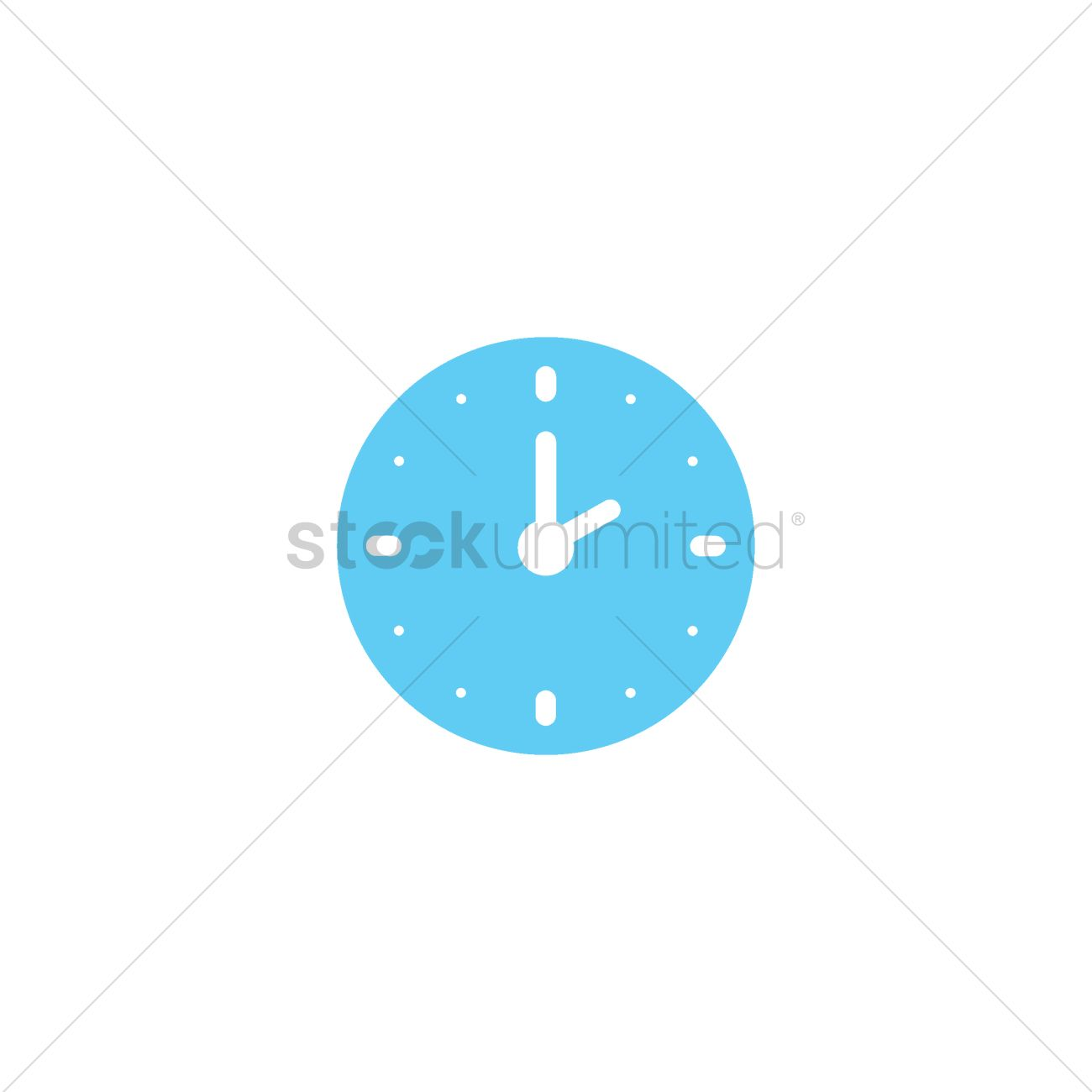 Clock icon Vector Image - 2005252 | StockUnlimited