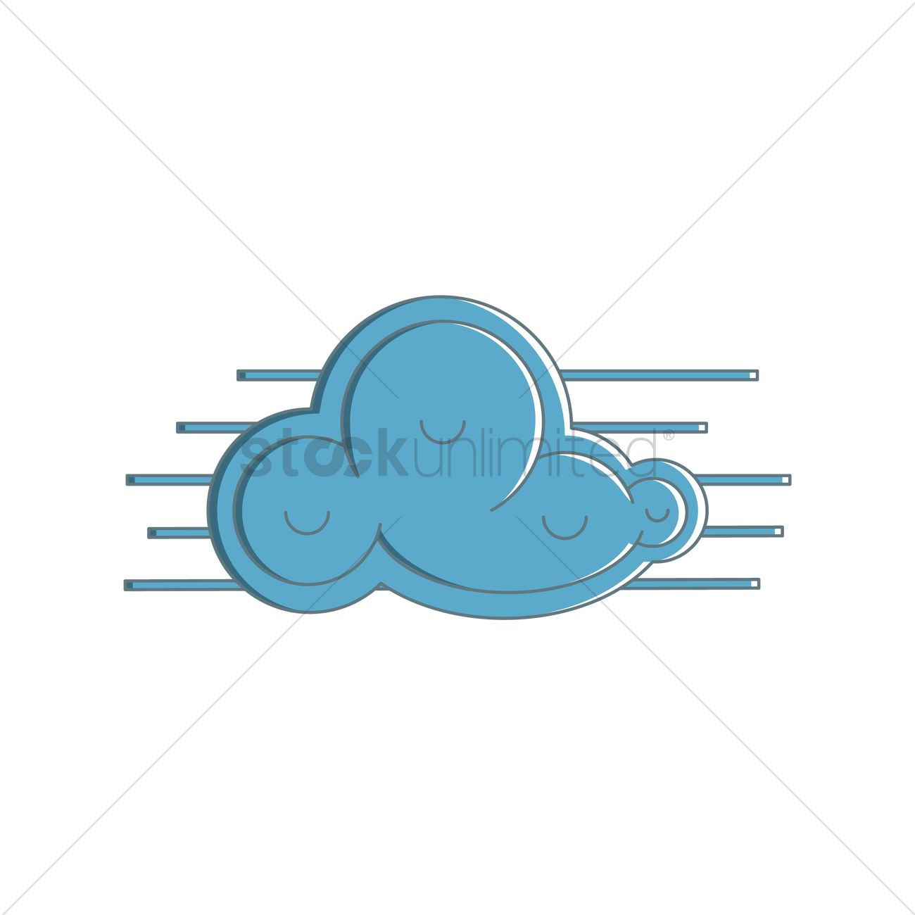Free Cloud Vector Image - 1364520 | StockUnlimited