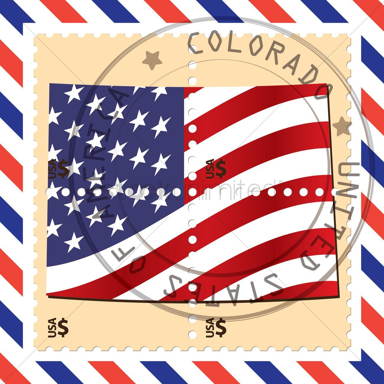 Colorado Stamp Vector Graphic