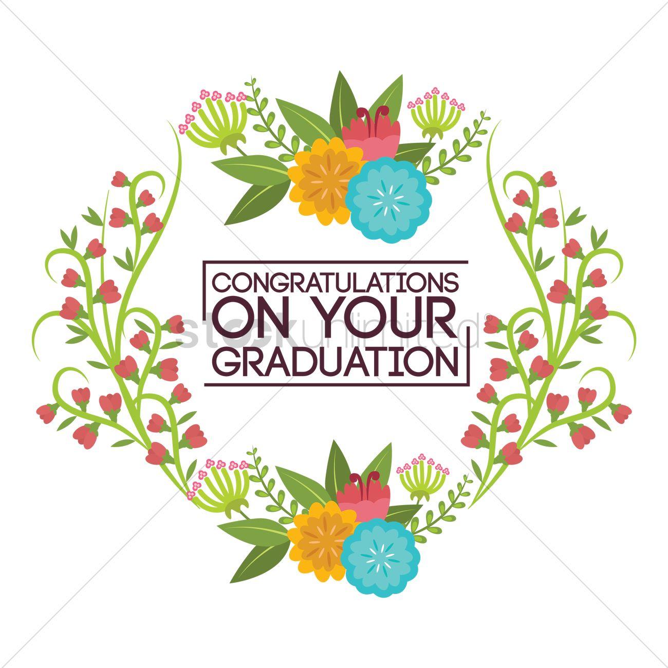 Congratulations on your graduation Vector Image - 1797280 ...