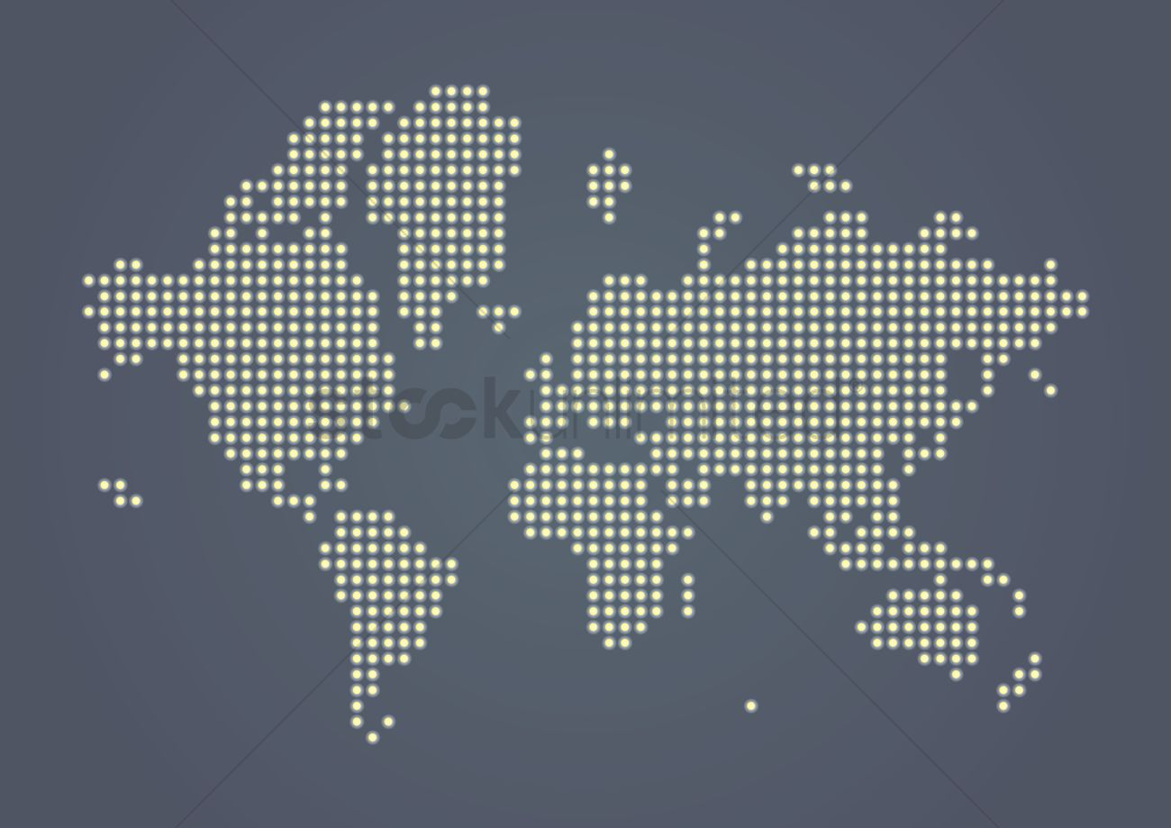 Creative world map design vector image 1983148 stockunlimited creative world map design vector graphic gumiabroncs