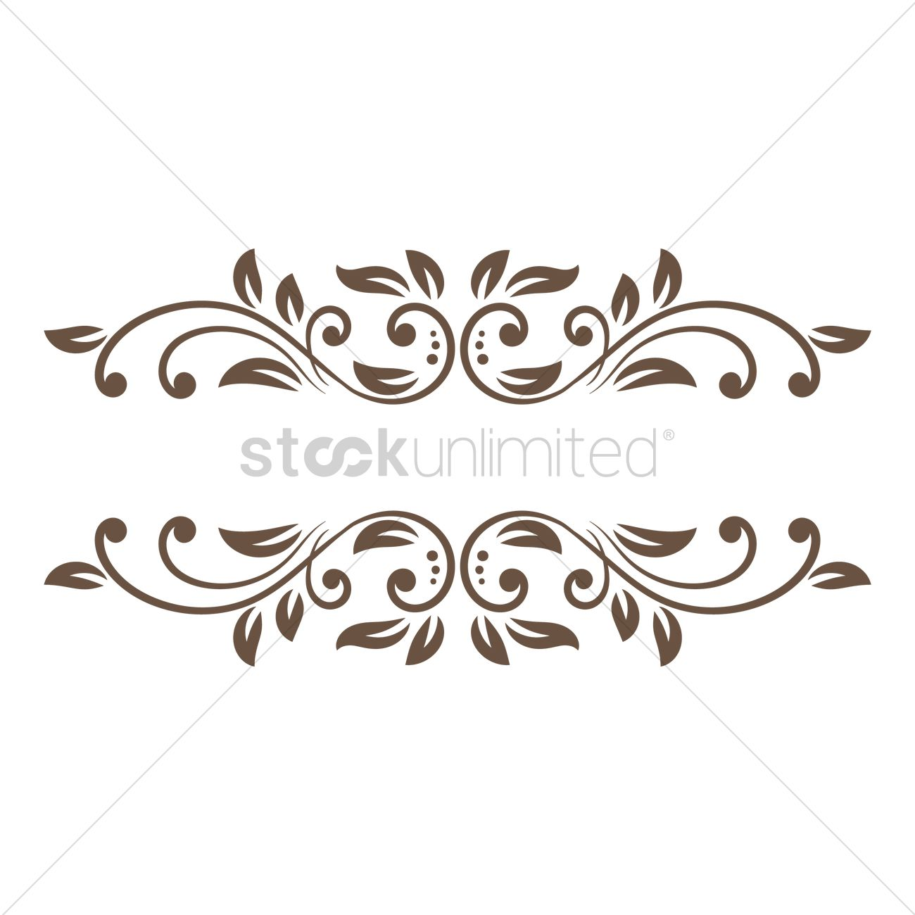 Decorative frame border Vector Image - 1873556 | StockUnlimited
