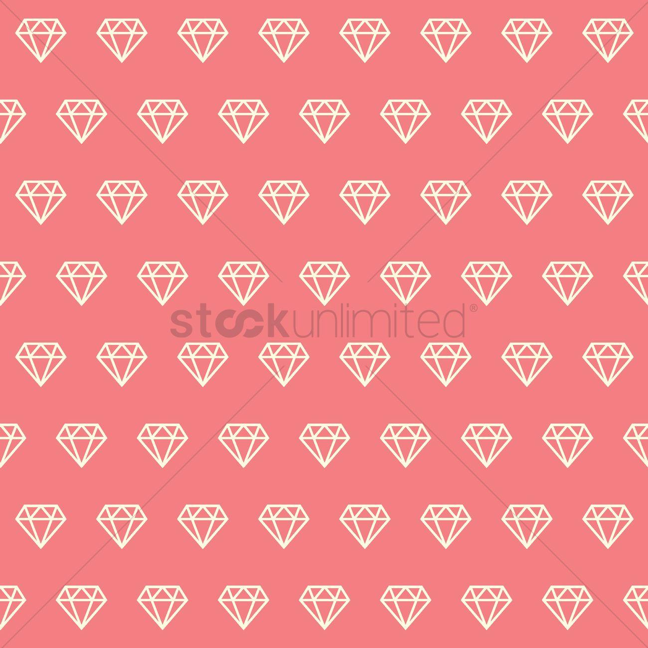 Diamond background Vector Image - 1541460 | StockUnlimited