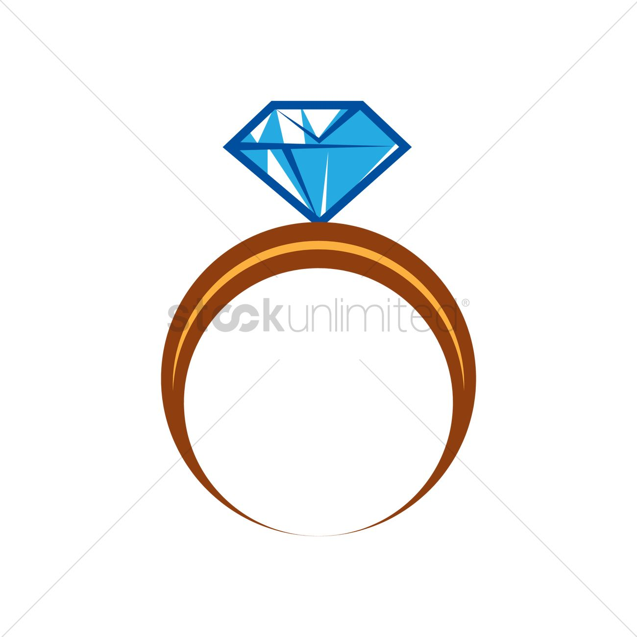 diamond ring vector image 2020644 stockunlimited