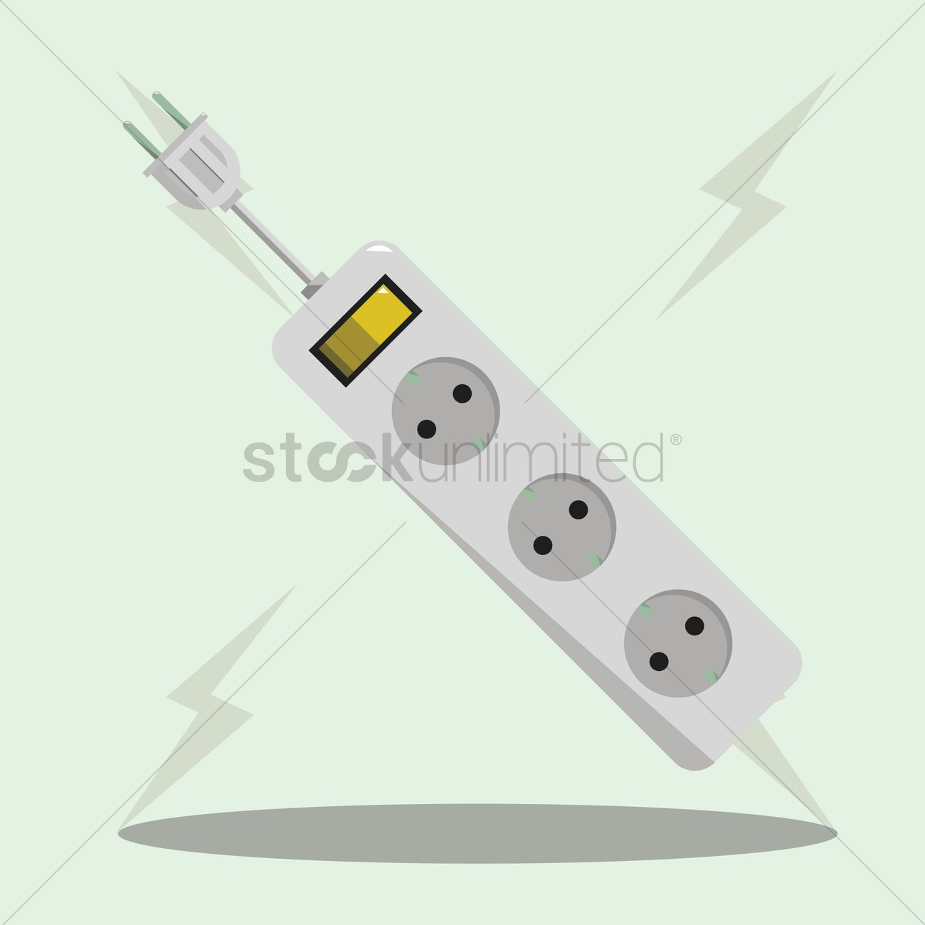 Incredible Extension Board Vector Image 1373112 Stockunlimited Wiring 101 Cajosaxxcnl