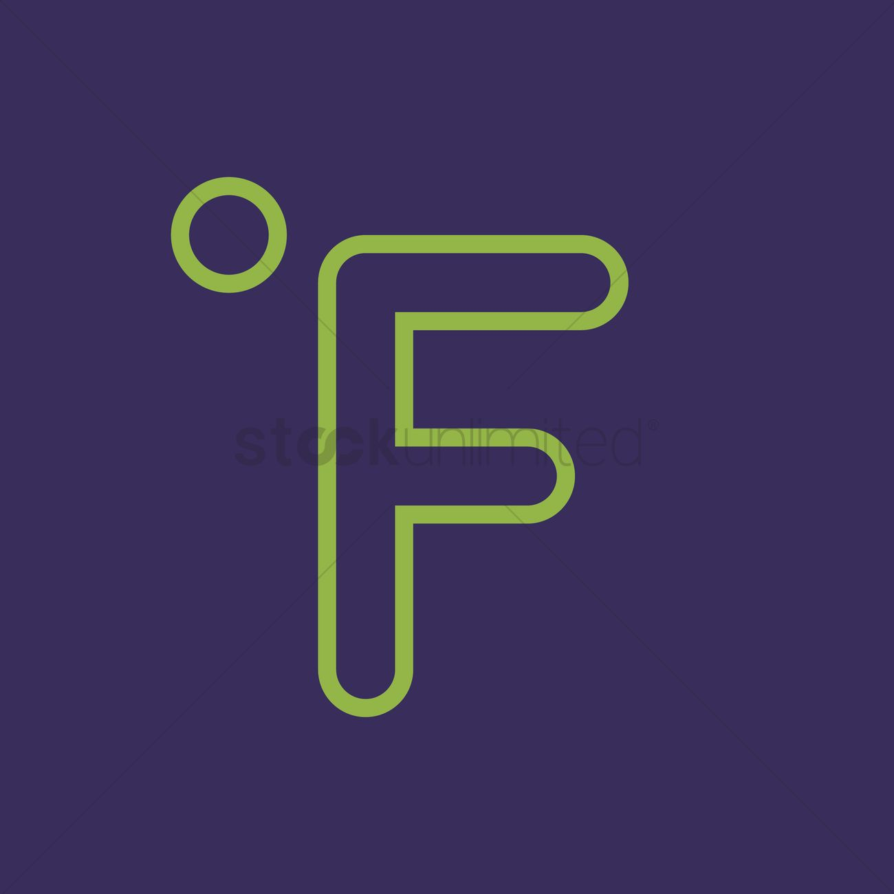 Fahrenheit symbol vector image 1370336 stockunlimited fahrenheit symbol vector graphic biocorpaavc Choice Image