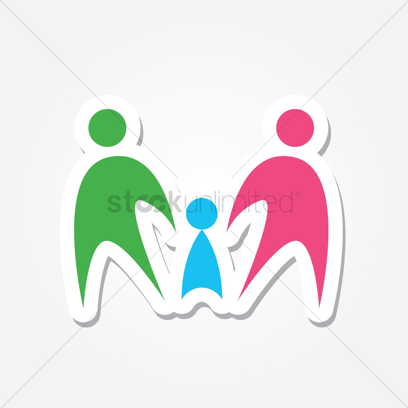free family holding hands logo vector image 1243720 stockunlimited rh stockunlimited com holding hands logo design