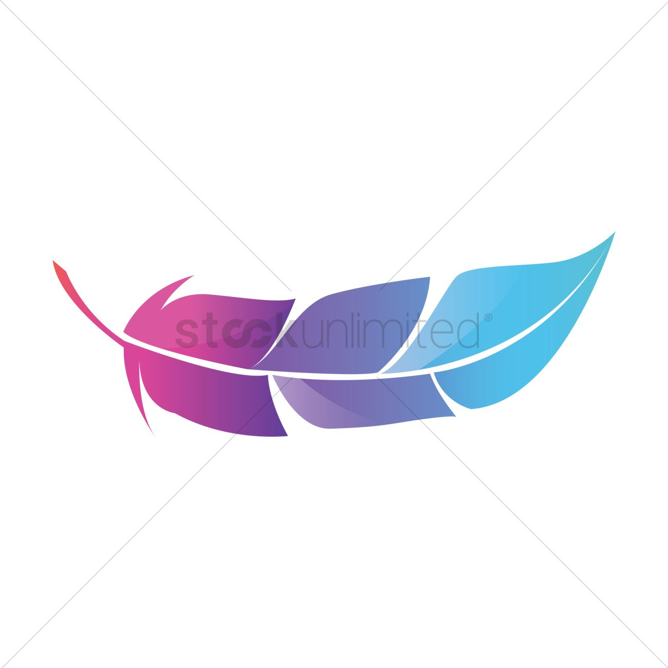 Feather icon Vector Image - 1601908 | StockUnlimited