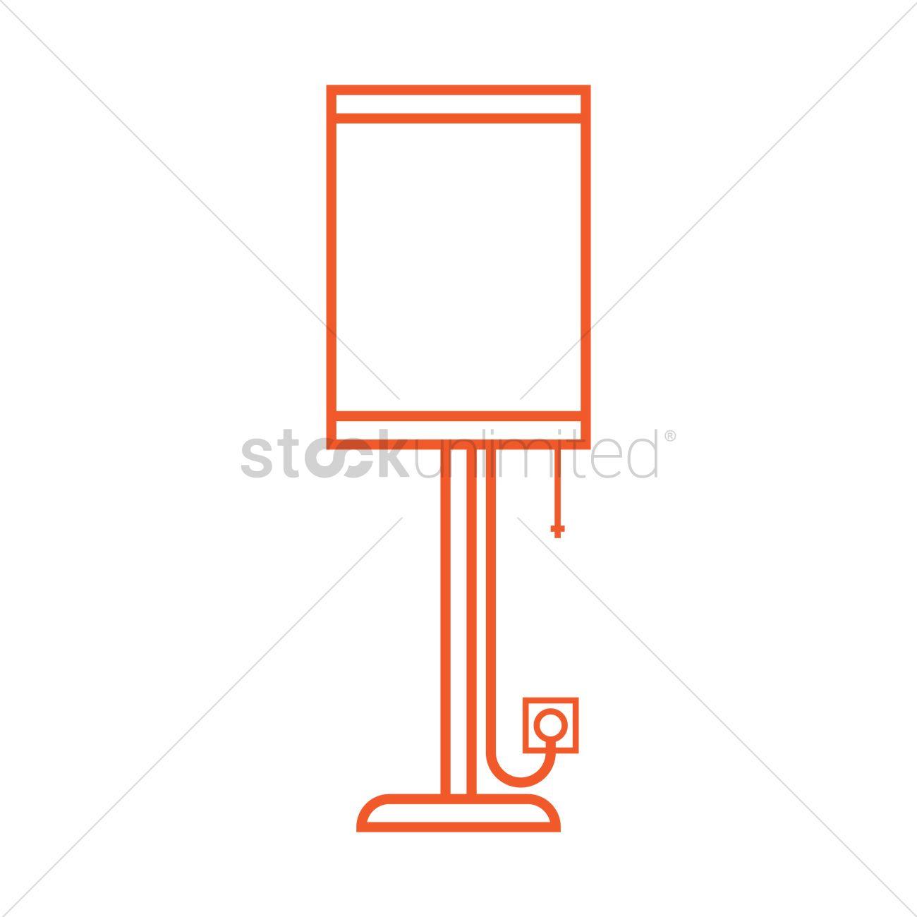 Floor lamp Vector Image - 1399592 | StockUnlimited for Floor Lamp Clipart  155sfw