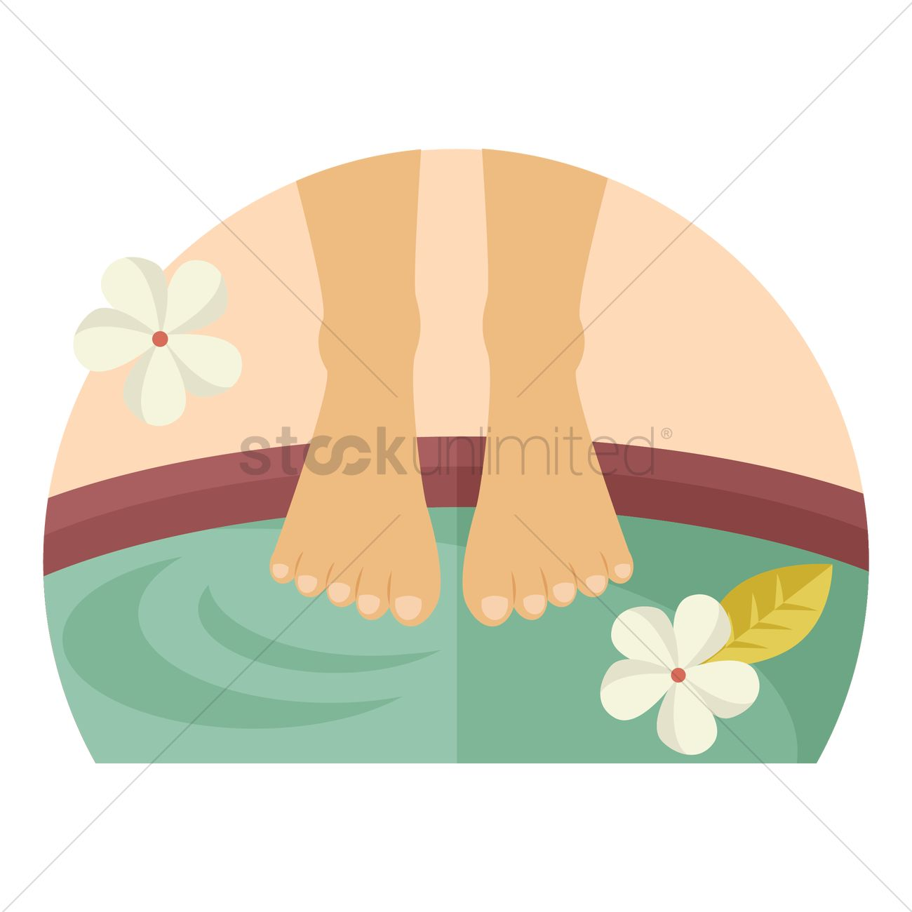 foot spa vector image 1309348 stockunlimited rh stockunlimited com manicure pedicure clipart free manicure pedicure clipart free