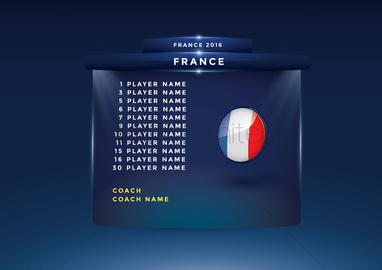 3D Football Lineup 451 Stock Animation | 708360  |Football Lineup