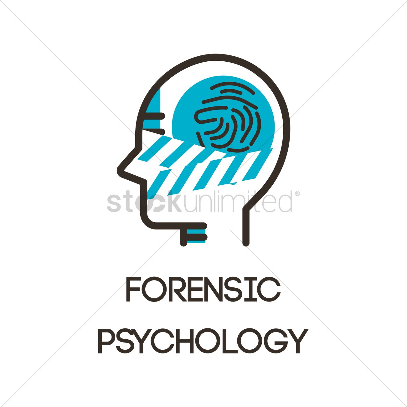 Forensic Psychology Icon Vector Image 2023228 Stockunlimited
