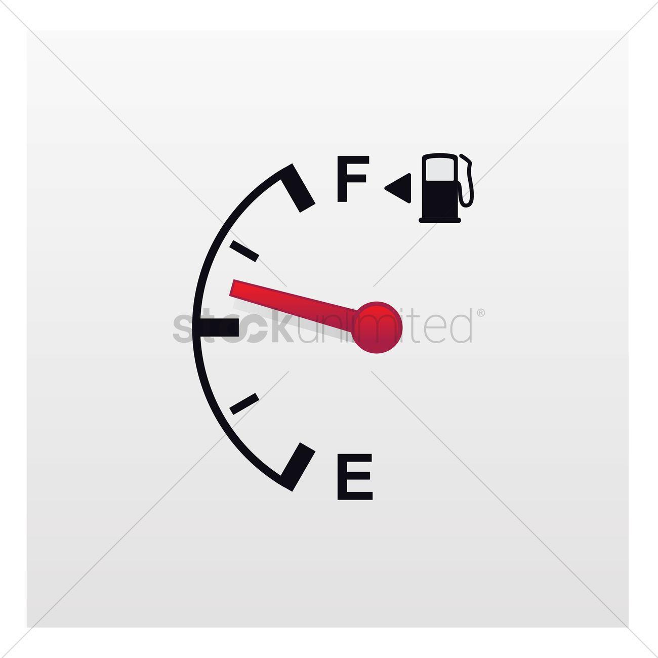 Fuel gauge Vector Image - 1893424 | StockUnlimited