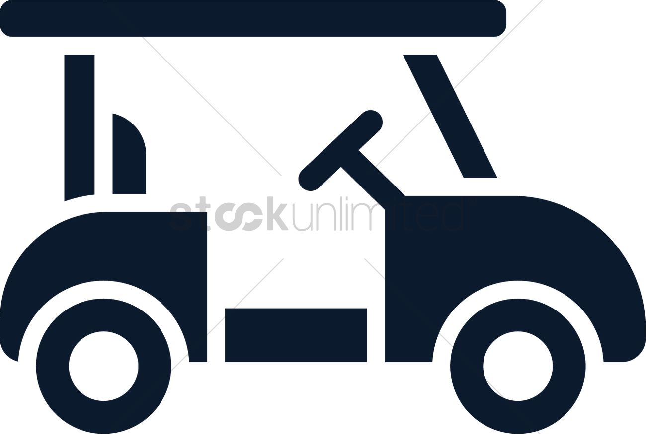 golf cart icon vector image 2024076 stockunlimited. Black Bedroom Furniture Sets. Home Design Ideas