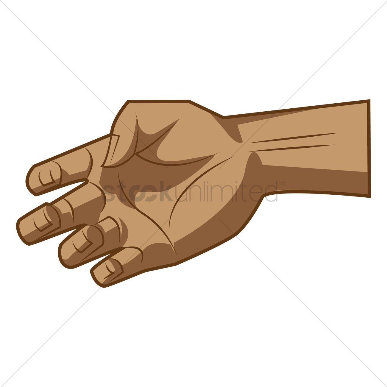 grab hand vector image 1459056 stockunlimited