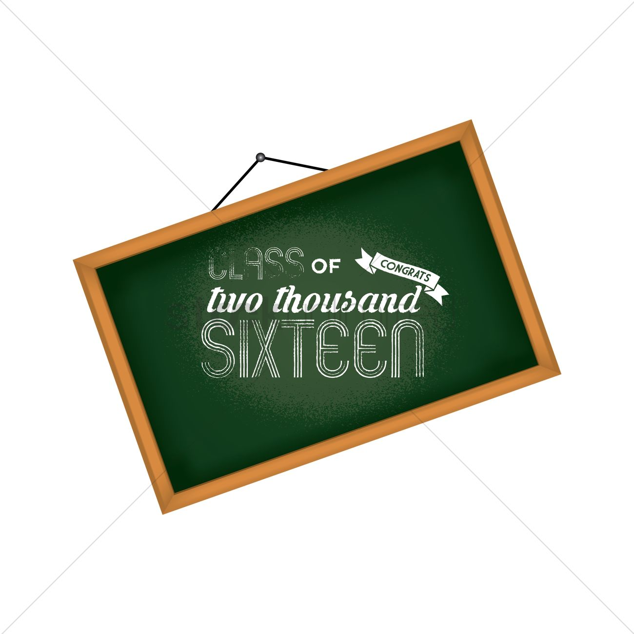 graduation chalkboard design vector image 1814884 stockunlimited