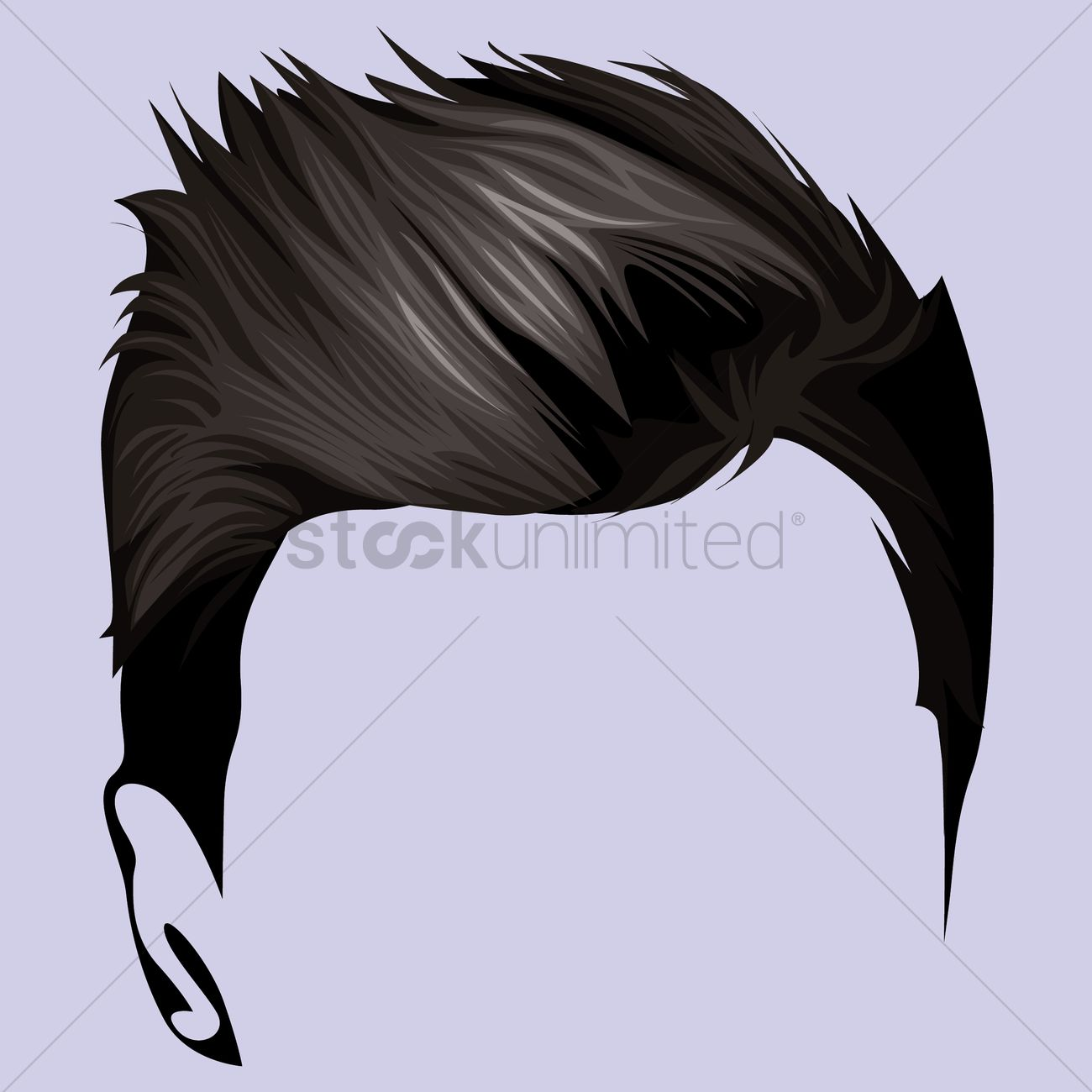 Hair style Vector Image - 1459700 | StockUnlimited