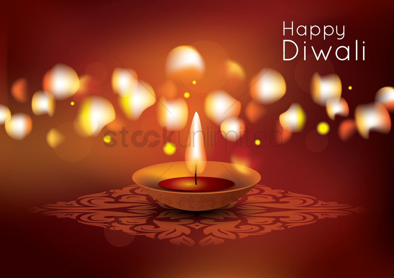 Happy Diwali Poster Design Vector Image 1964148 Stockunlimited