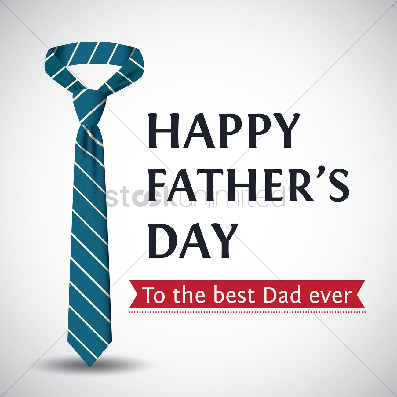 Happy Fathers Day Greeting Vector Image 1619696 Stockunlimited