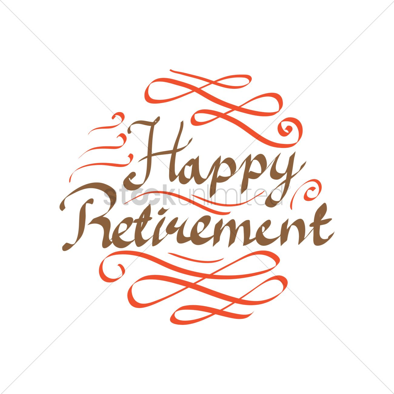Happy Retirement Cake Banner