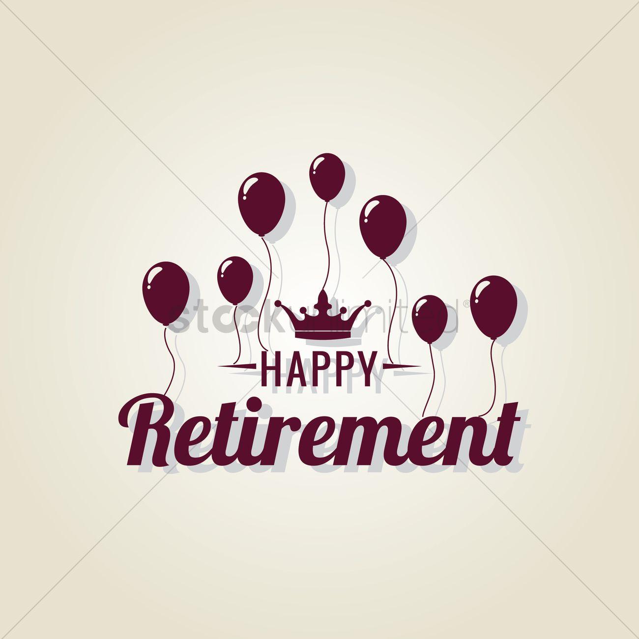 Free Happy retirement Vector Image - 1603684 | StockUnlimited