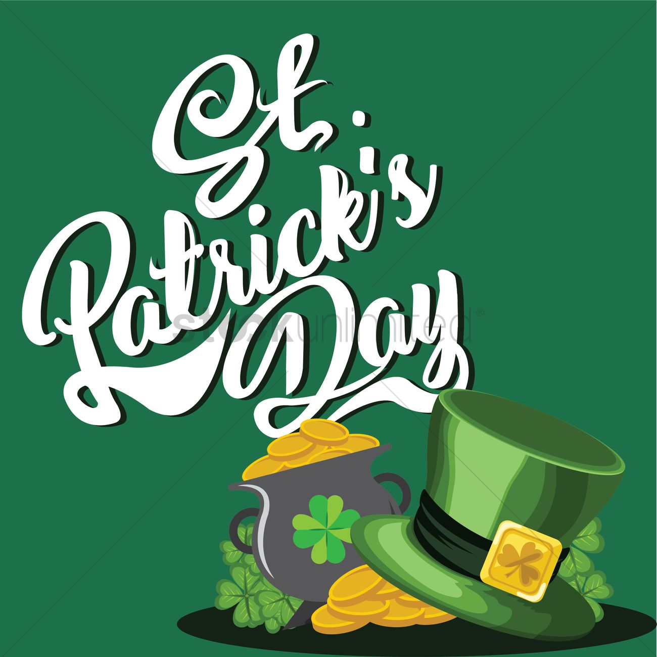 happy st patricks day vector image 1991424 stockunlimited