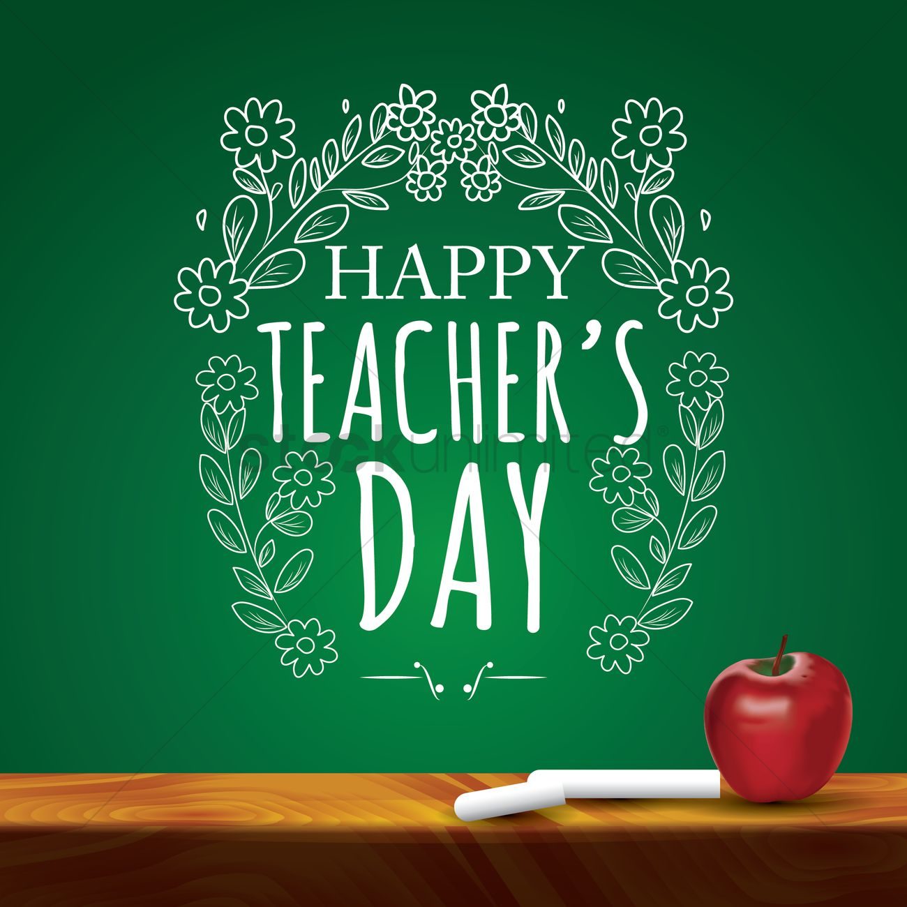 Teachers Day Quotes In English Images: Happy Teacher's Day Design Vector Image