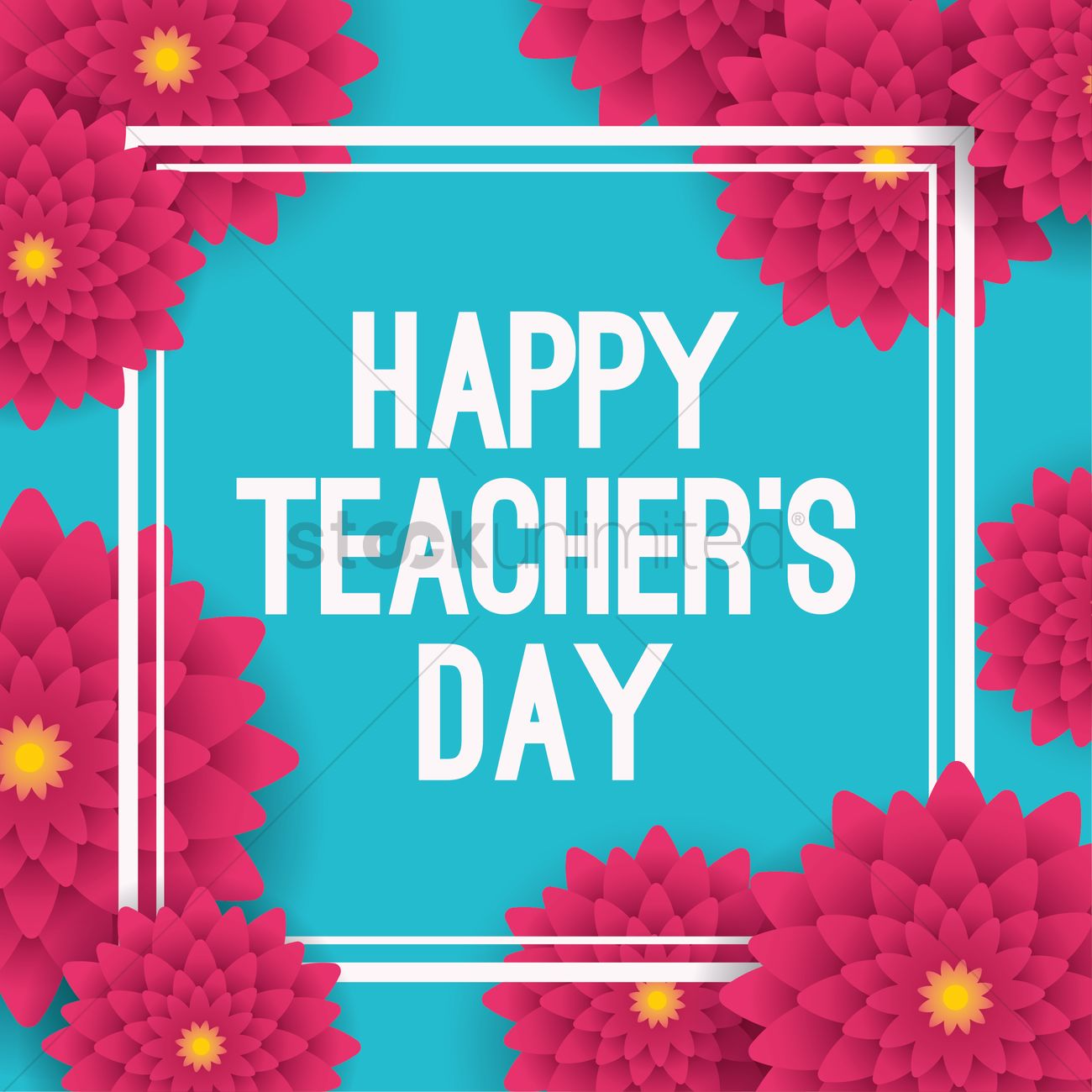 Happy teachers day design vector image 2007048 stockunlimited happy teachers day design vector graphic kristyandbryce Choice Image