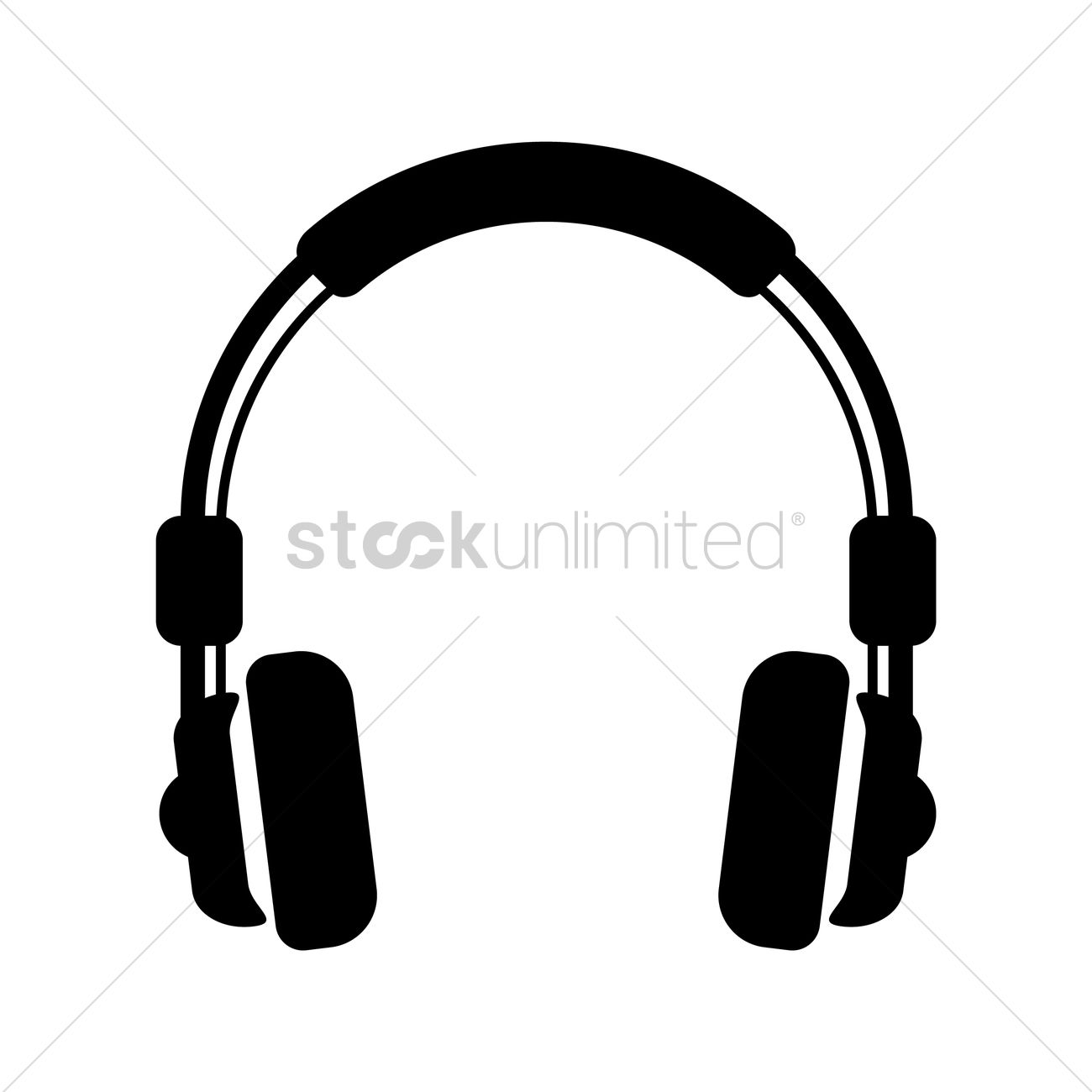 Headphones Vector Image - 1529272 | StockUnlimited