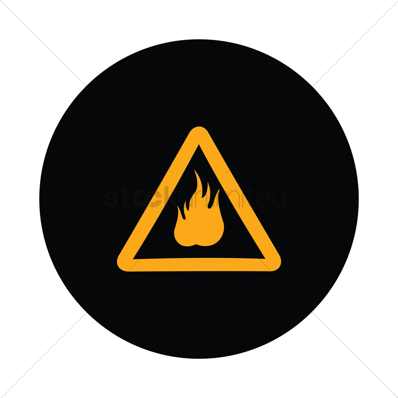 Highly flammable sign vector image 1350940 stockunlimited highly flammable sign vector graphic buycottarizona