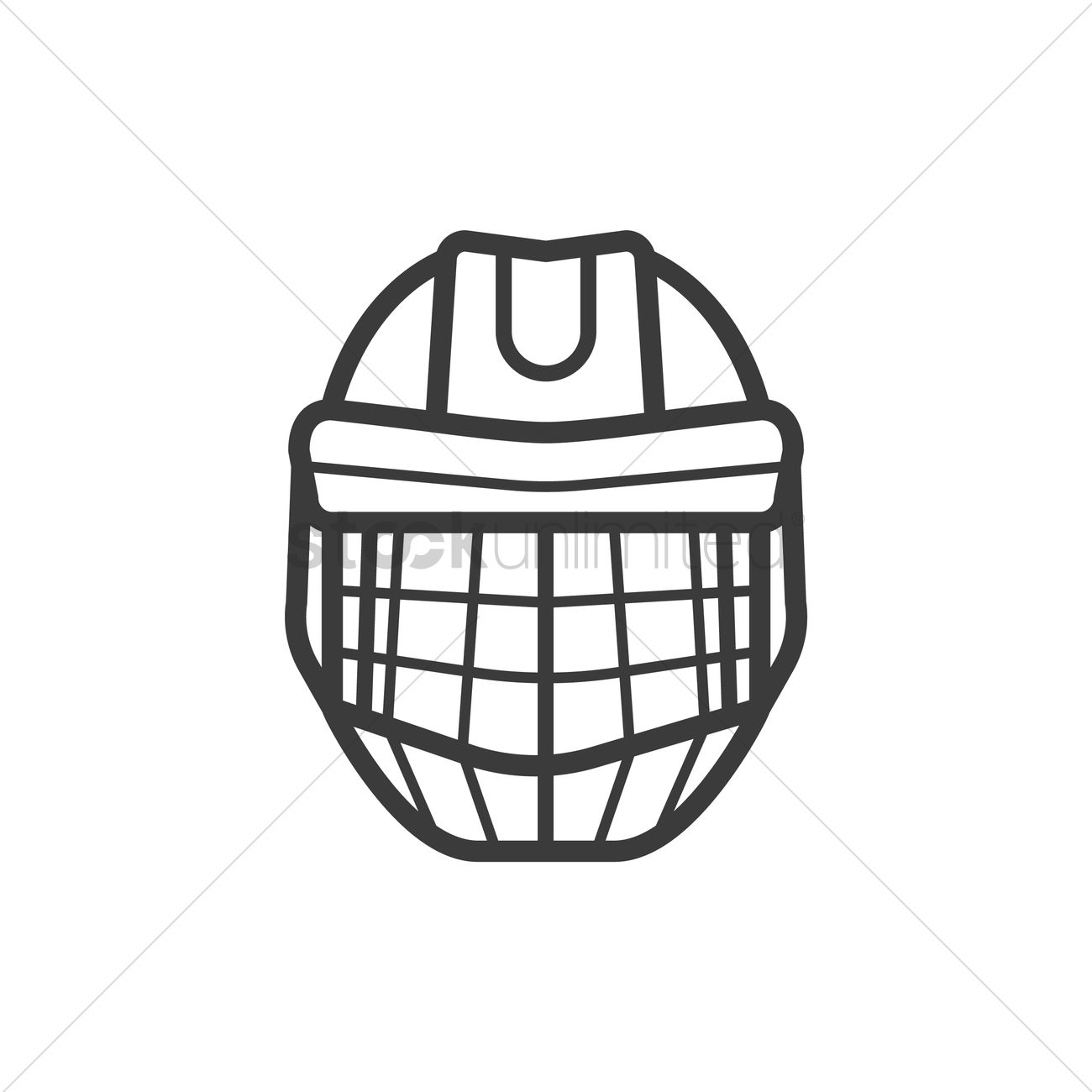 Hockey goalie mask template choice image professional for Bauer goalie mask template