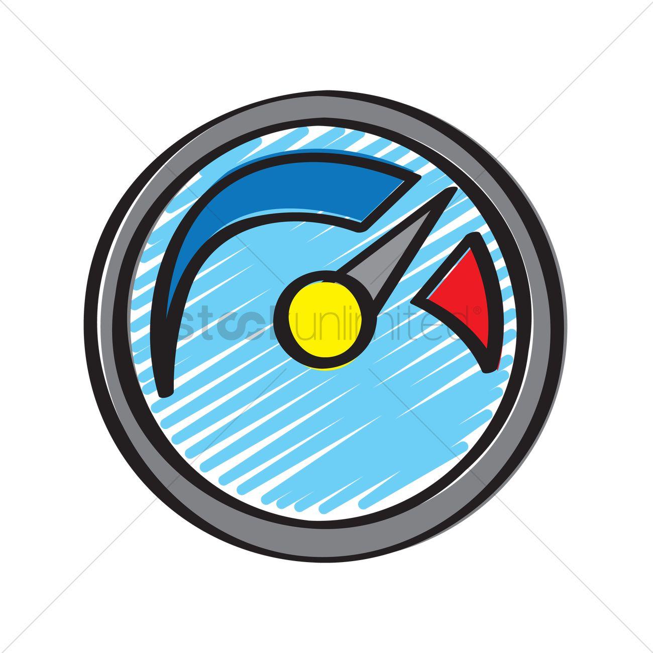Free Illustration of a fuel gauge Vector Image - 1234820