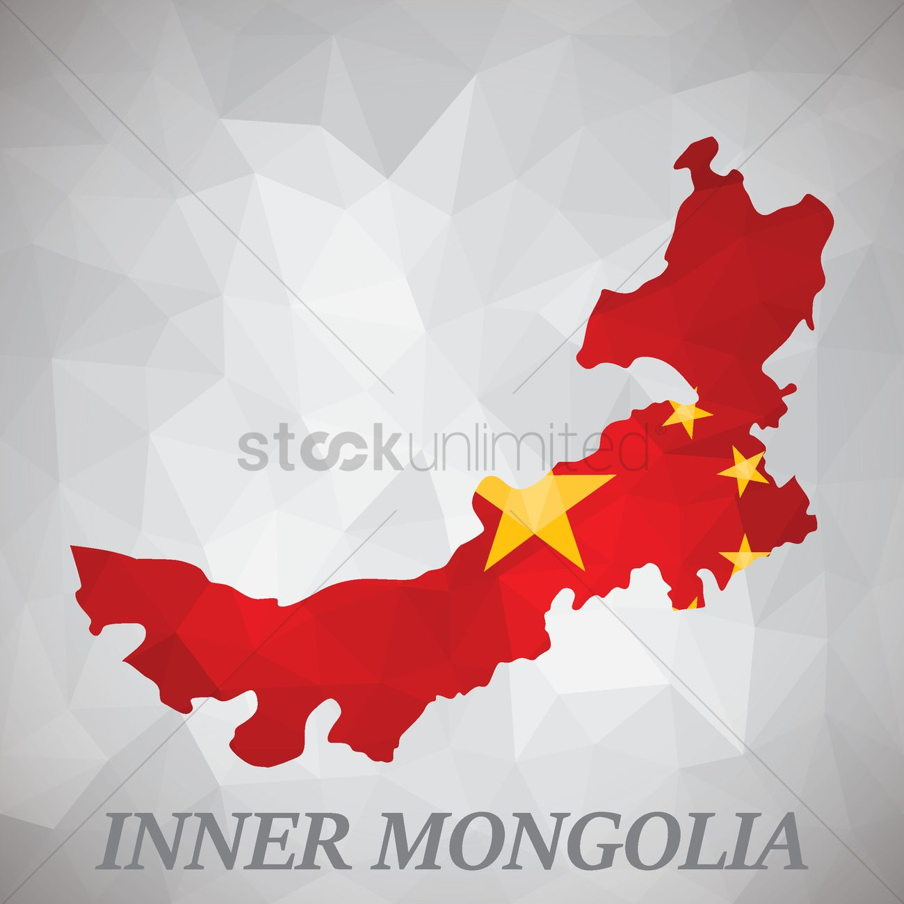 Inner Mongolia Map Vector Image StockUnlimited - Mongolia map vector