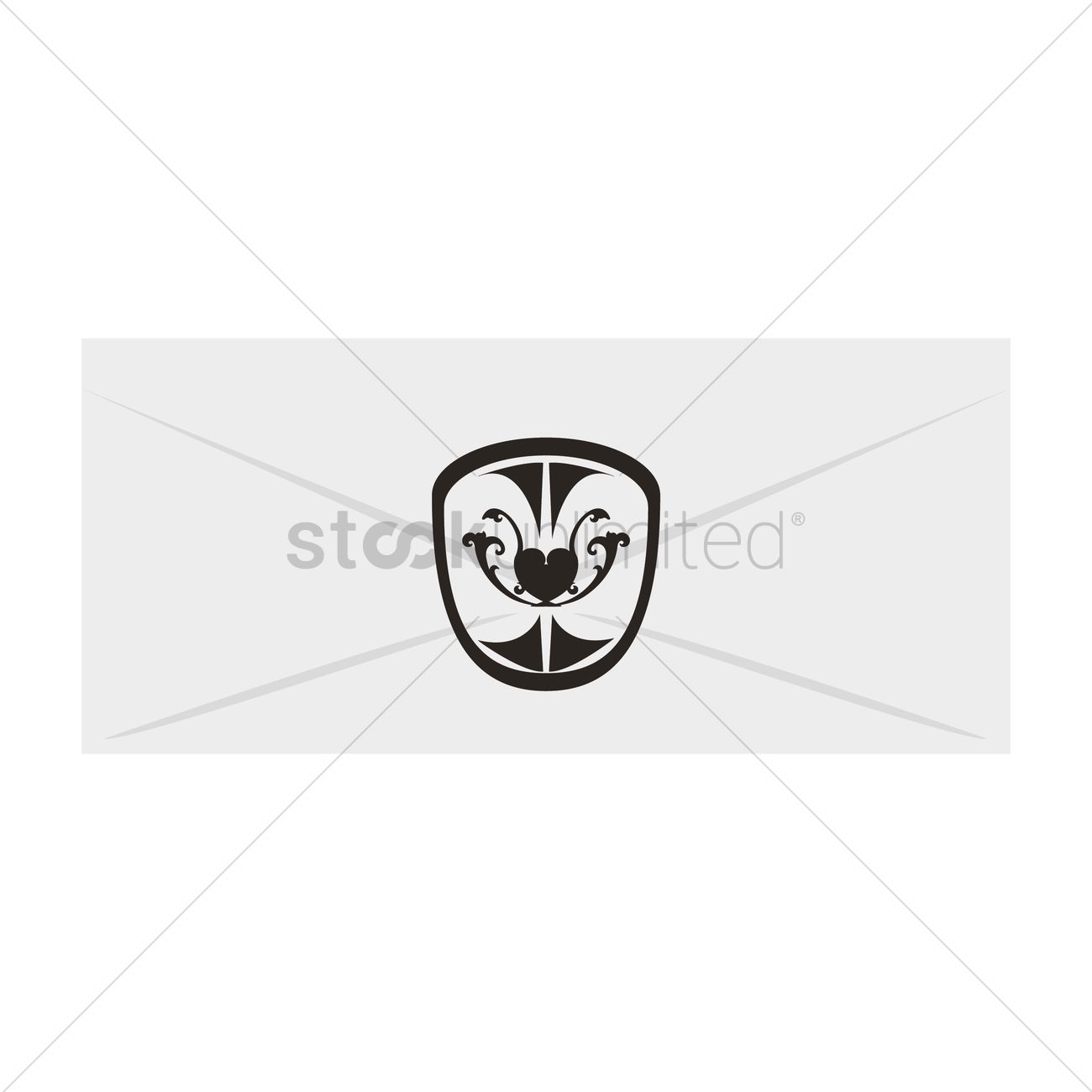 Invitation envelope vector image 1329424 stockunlimited invitation envelope vector graphic stopboris Choice Image