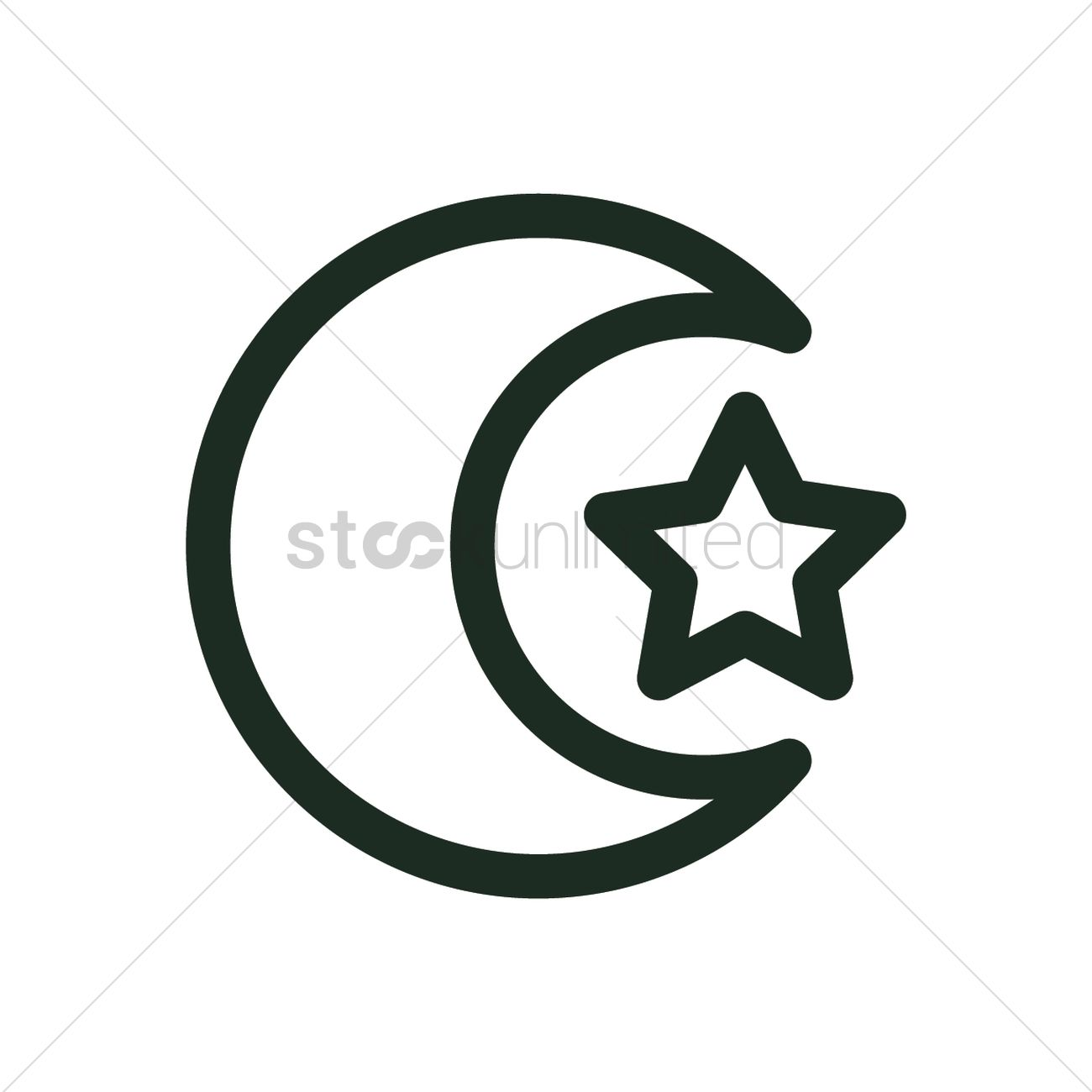 Islamic Symbol Vector Image 2024496 Stockunlimited