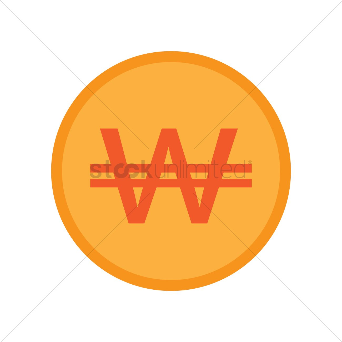 Korea won currency symbol vector image 2013476 stockunlimited korea won currency symbol vector graphic biocorpaavc Images