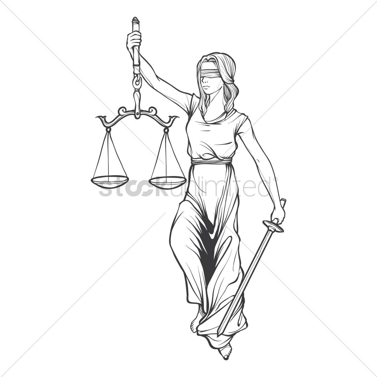 lady justice statue drawing wwwpixsharkcom images